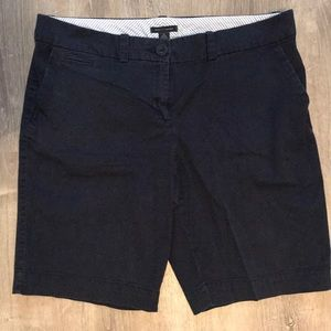 Navy Bermuda shorts!